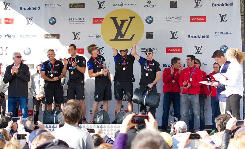 Emirates Team New Zealand puts another win in the bag.
