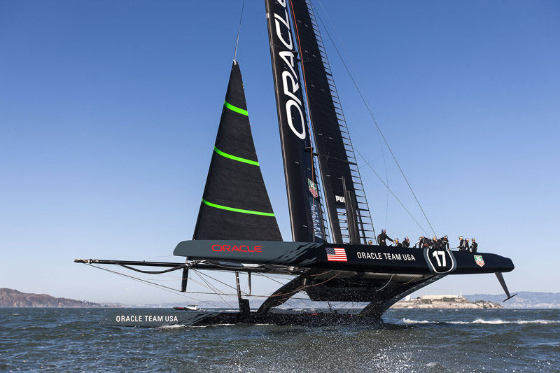 or 17 fourth ggotu 4488 1 Na Americas Cup, o Emirates sai na frente