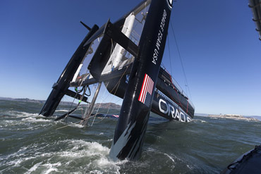 Click image to enlarge and read article. Photo:�2012 Guilain Grenier/Oracle Team USA
